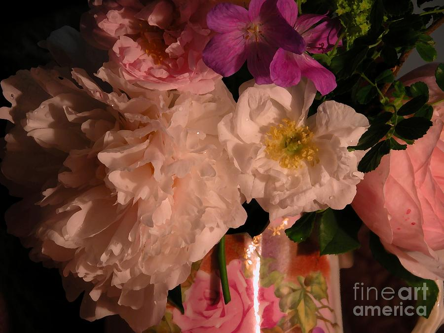 Roses Photograph - Grandmas Bloomers by Donna Stewart