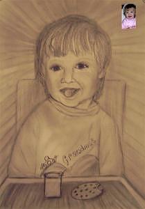 Grandmas Heart Drawing by Paula Taylor