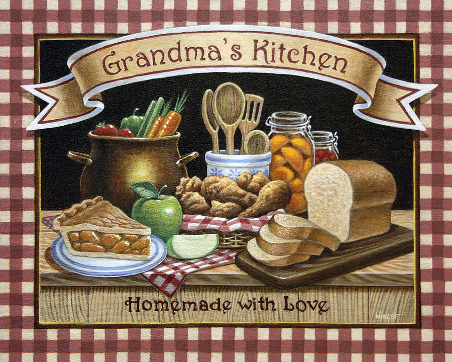 Grandma's Kitchen Painting By Brian Winget. Butcher Block Kitchen Table And Chairs. North Shore Kitchen And Bath. Orient Kitchen Pittsburgh. Chili Pepper Kitchen Rug. Artisan Kitchen Sinks. Online Kitchen Stores. Dominican Kitchen. Kitchen Pantry Door Ideas
