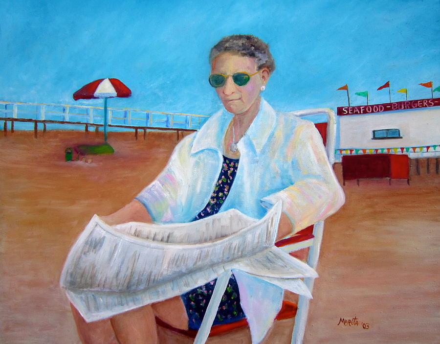 Wildwood Painting - Grandmom Kelly by Marita McVeigh