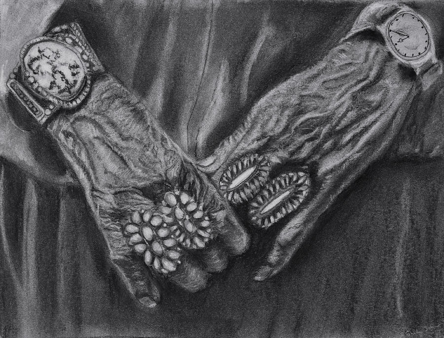 Grandmother Hands by Sheila Johns