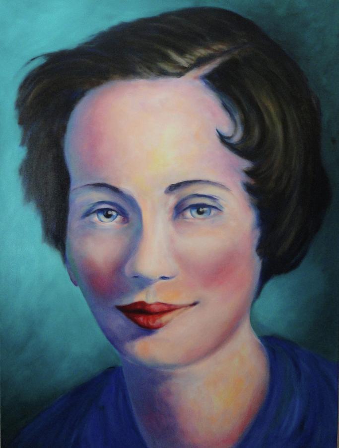 Grandmother Painting