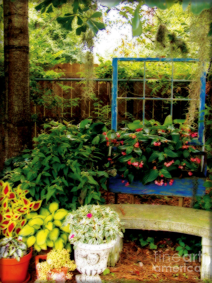 Garden Photograph - Grandmothers Dream by Laura Brightwood