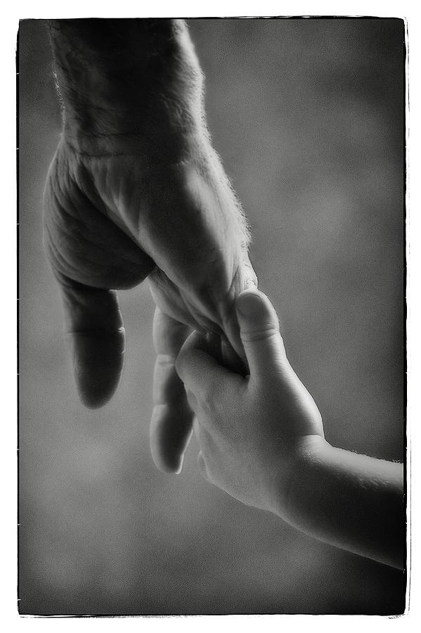 Grandfather Photograph - Grandpa by Michael Ziegler