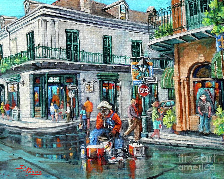 Grandpa Elliott Painting - Grandpas Corner by Dianne Parks