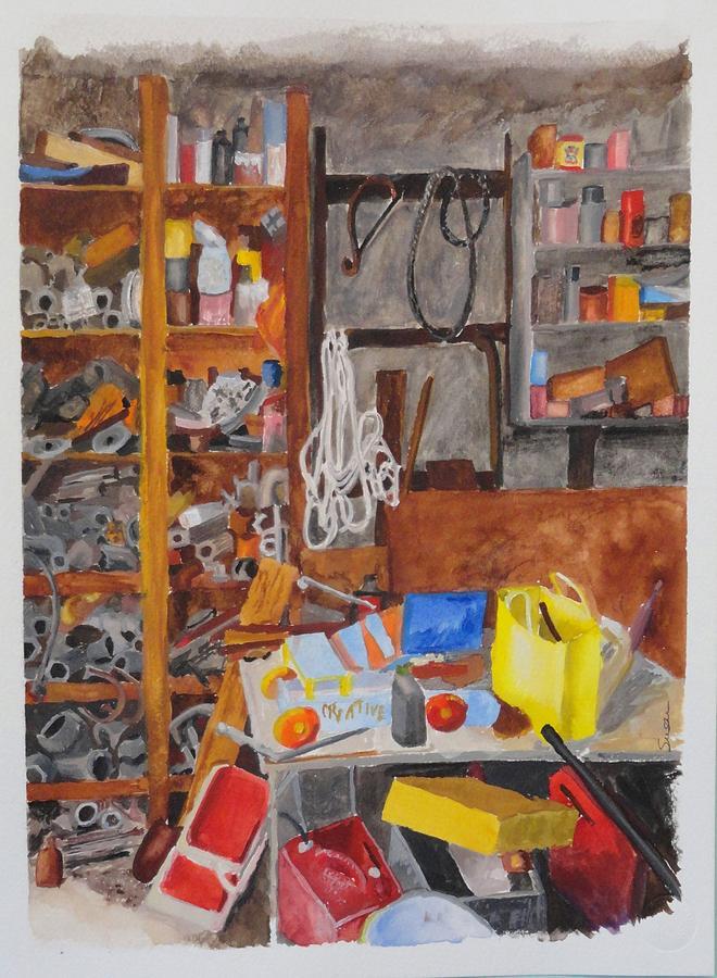 Grandpa's Garage by Susan Anderson