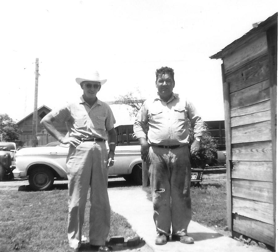 Grandpas in OK Photograph by Curtis J Neeley Jr