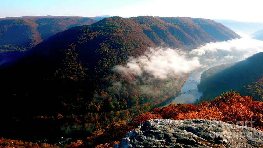 West Virginia Photograph - Grandview New River Gorge by Thomas R Fletcher