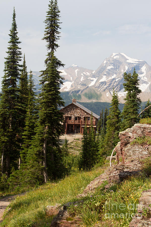 Granite Park Chalet and Heaven's Peak 2 by Katie LaSalle-Lowery