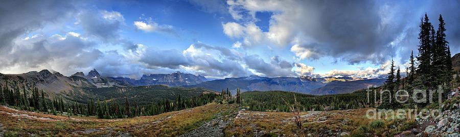 Glacier National Park Photograph - Granite Park - Glacier National Park by Bruce Lemons
