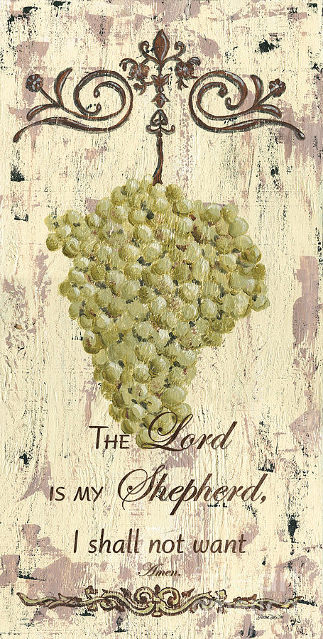 Grapes Painting - Grapes And Grace 2 by Debbie DeWitt