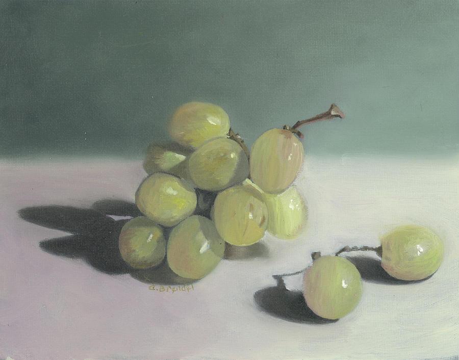 Grapes Still life  by Cecilia Brendel