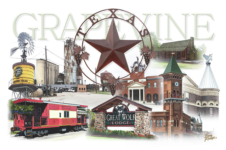 Grapevine Texas by Doug Kreuger