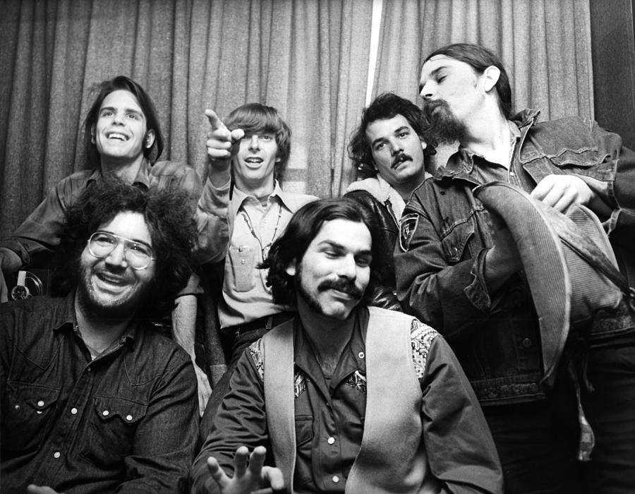 Grateful Dead 1970 London Photograph By Chris Walter