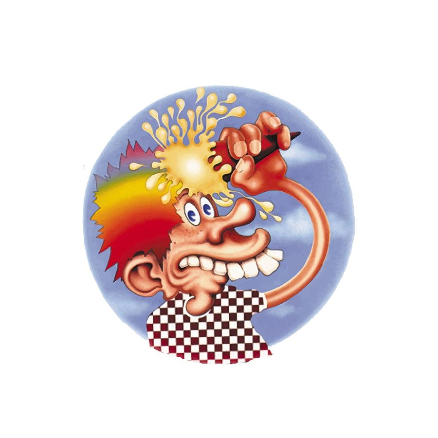 Steal Your Face Digital Art - Grateful Dead Europe 72 by Gd