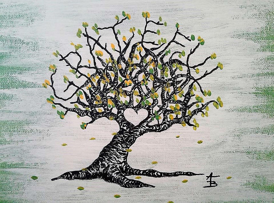 Grateful Love Tree by Aaron Bombalicki