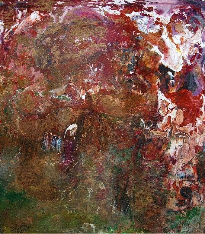 Gratitude  Painting by Joy Ha Threats
