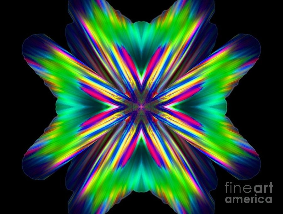 Abstract Digital Art - Gratitude by Lorles Lifestyles