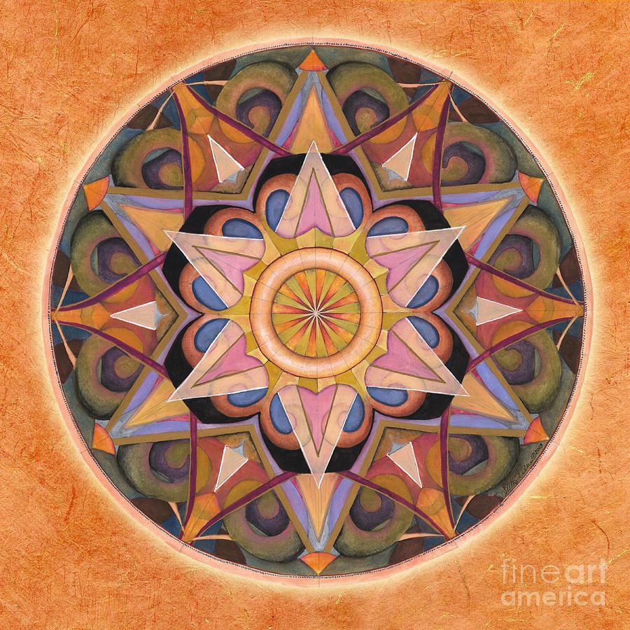 Gratitude Mandala by Jo Thomas Blaine