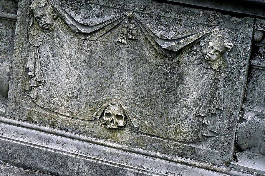 Grave Photograph - Grave Business by Robert Joseph
