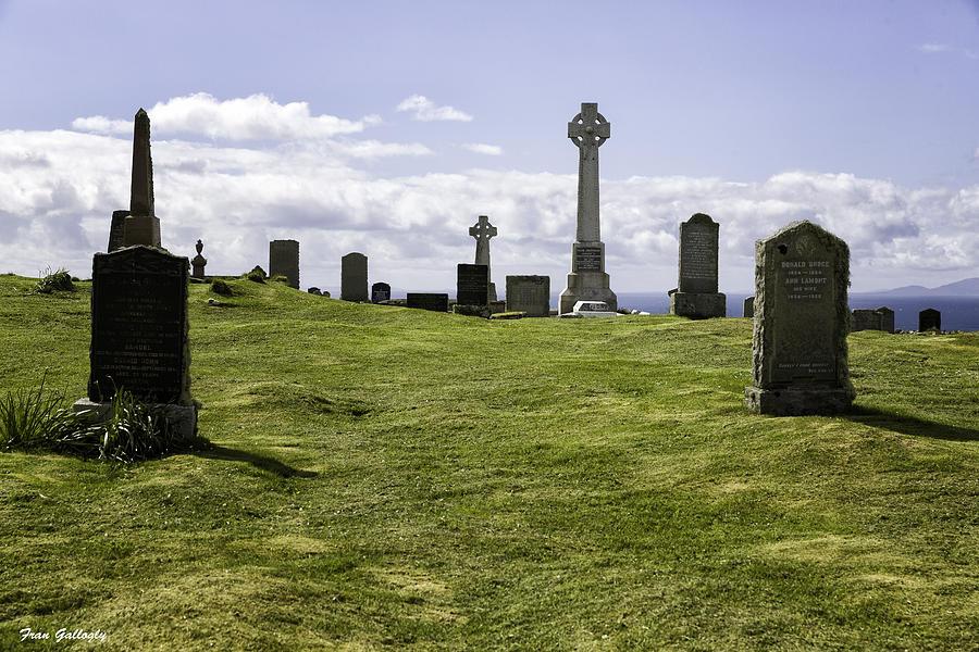 Grave Photograph - Grave Of Flora Macdonald by Fran Gallogly