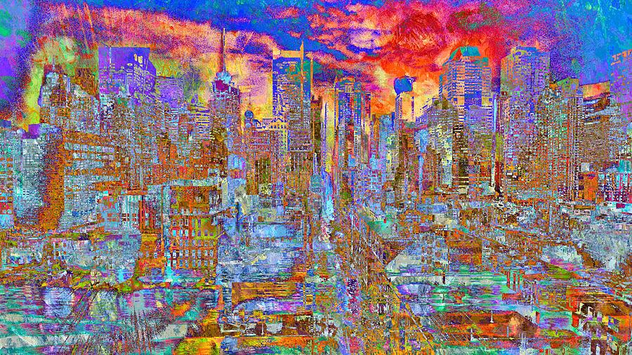 Gravity City Rain by Mary Clanahan