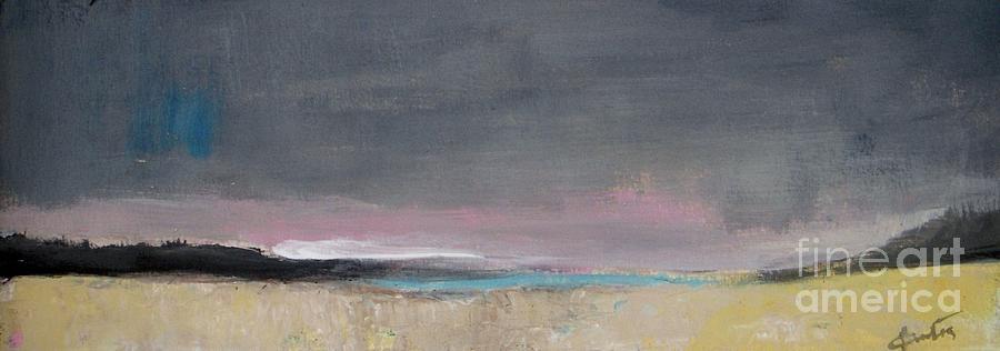 Panoramic Painting - Gray Sky by Vesna Antic
