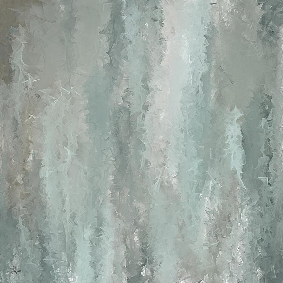 Grayish Blue grayish blue abstract art paintinglourry legarde