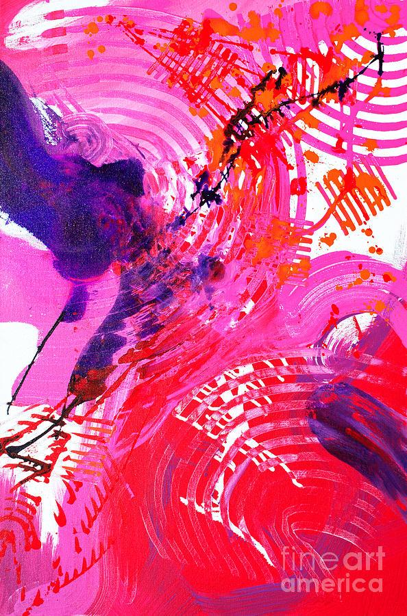 Graze Painting by Priscilla Batzell Expressionist Art Studio Gallery
