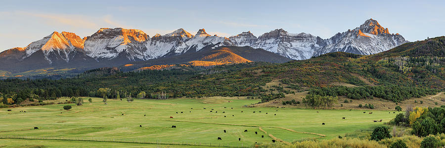 Grazing Under Sneffels by David Chandler
