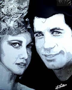 Grease Painting by Richard La Valle
