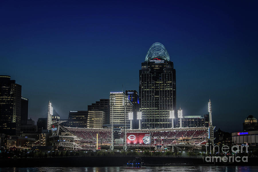 Great American Ballpark  by Jason Finkelstein