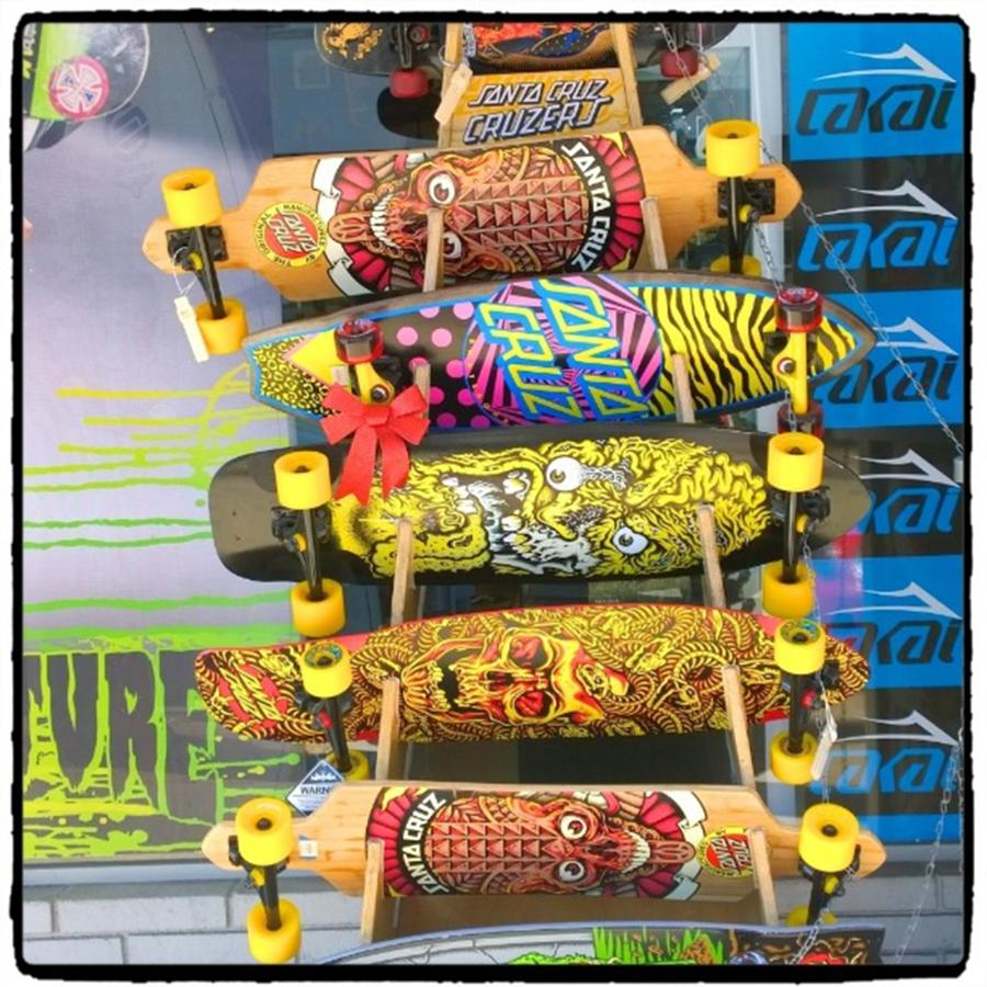 Santacruz Photograph - Great Art On These Skateboards! by Shari Warren