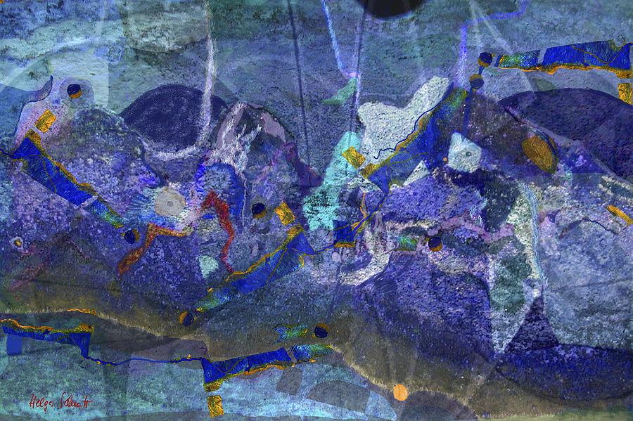 Great Barrier Reef Digital Art by Helga Schmitt