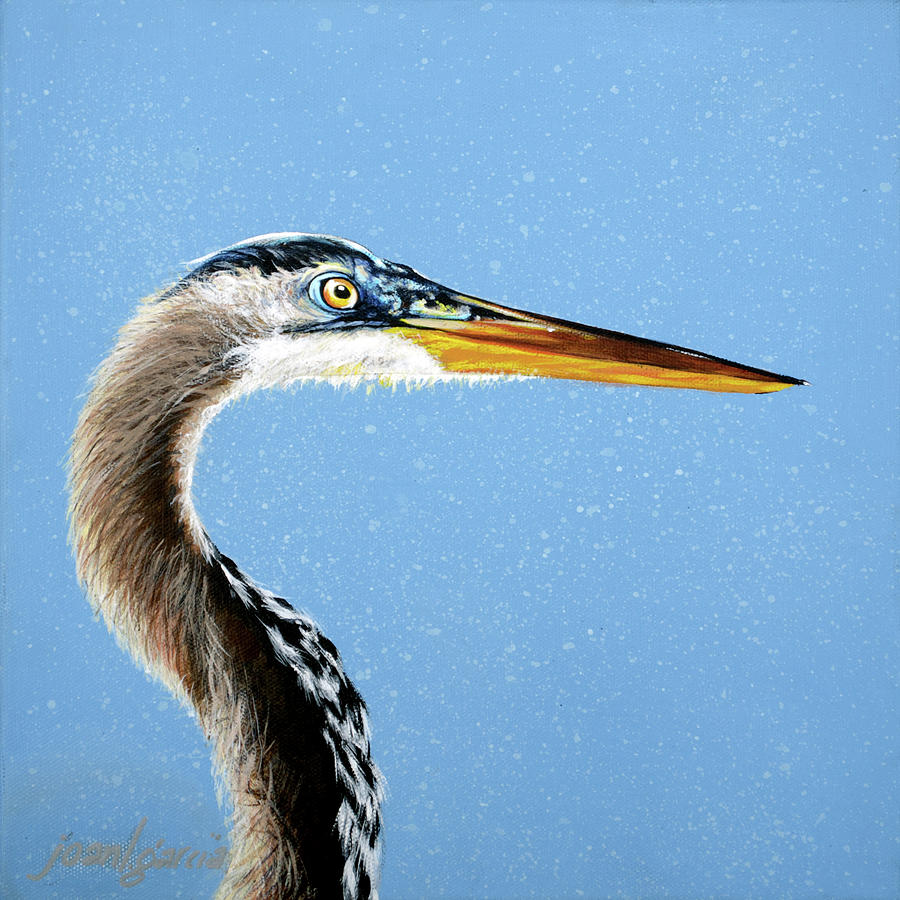 Great Blue Walter by Joan Garcia