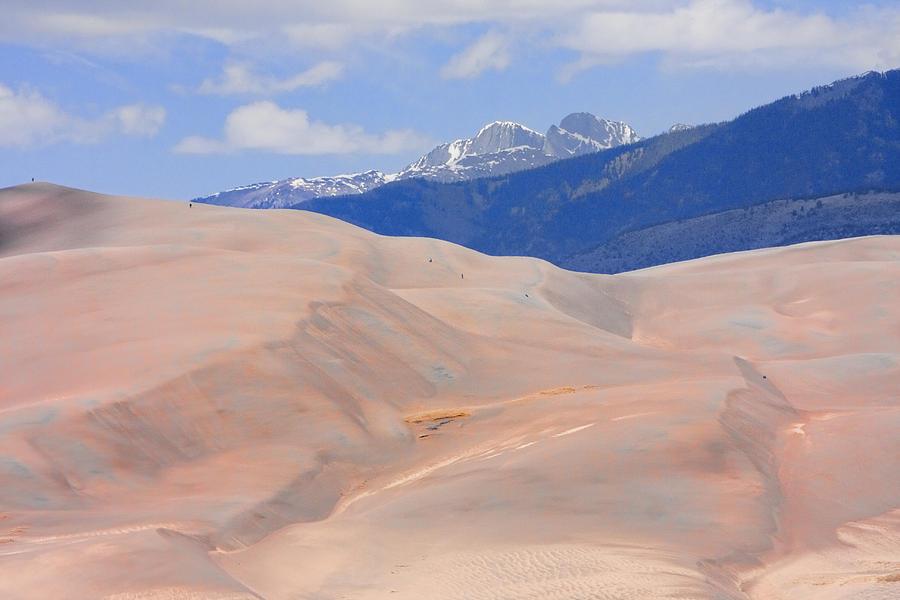 Colorado Photograph - Great Colorado Sand Dunes by James BO  Insogna