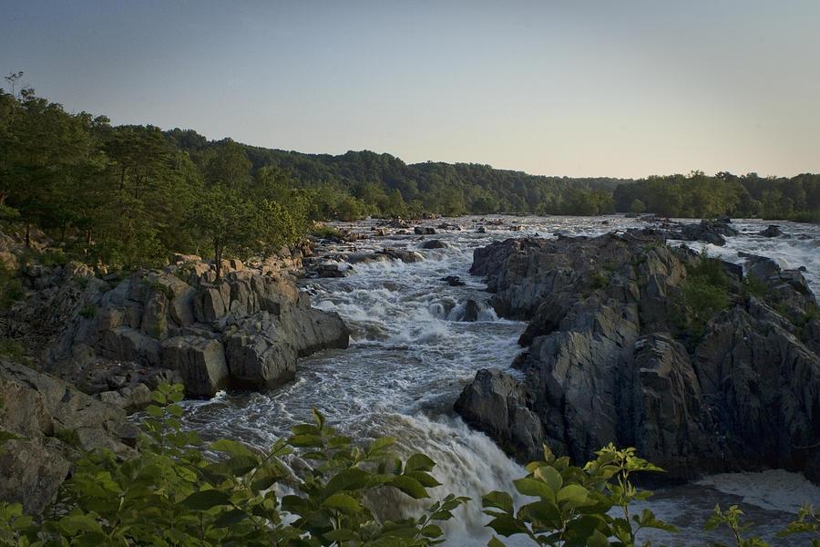 Virginia Photograph - Great Falls by Christina Durity