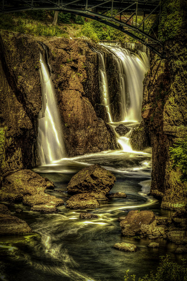 Great Falls Close up by Jorge Perez - BlueBeardImagery