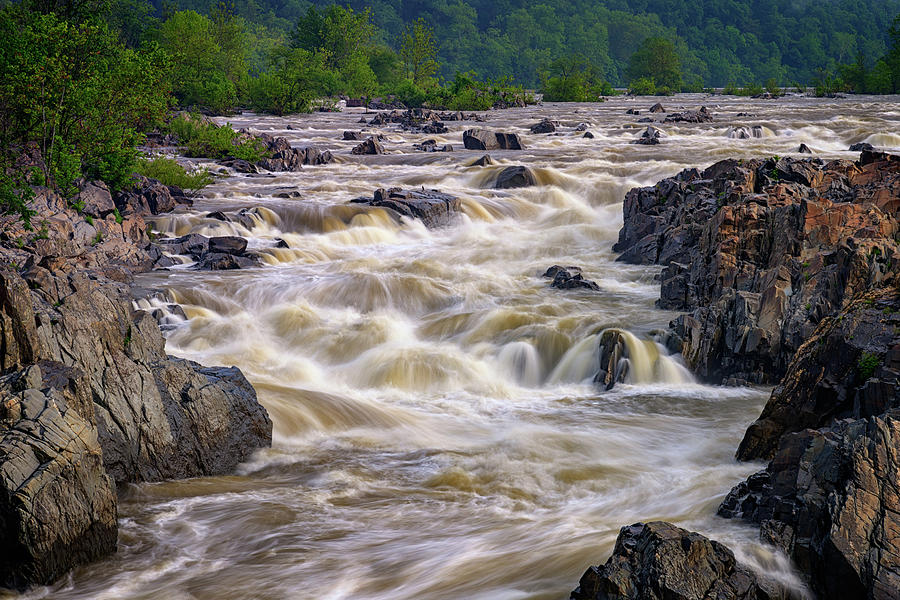 Great Falls Of The Potomac River Photograph