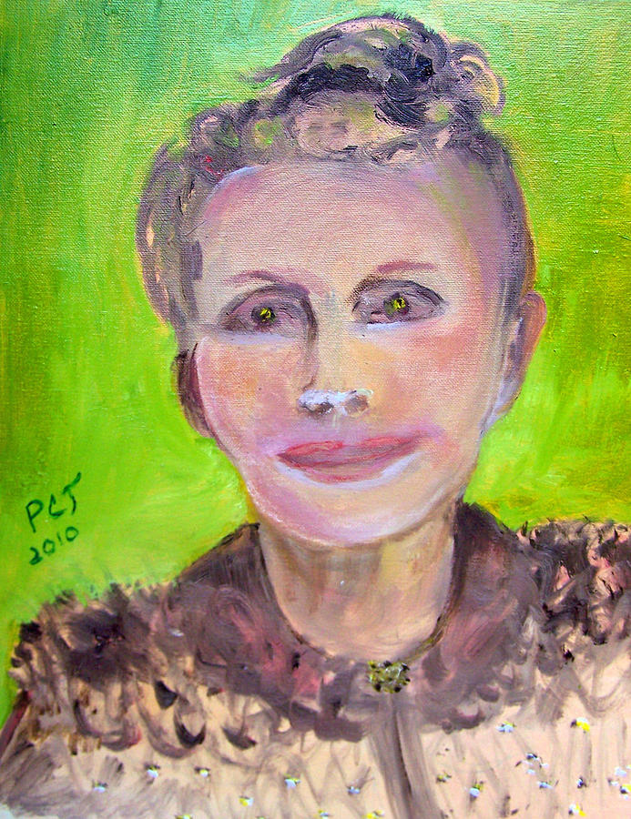 Woman Painting - Great Grandmother Adora by Patricia Taylor