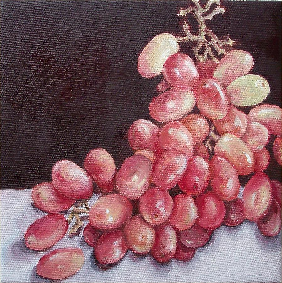Still Life Painting - Great Grapes 2 by Irene Corey