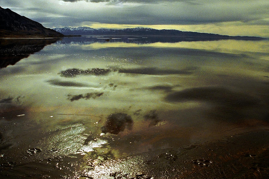 Landscapes Photograph - Great Salt Lake Study 1 by Brian Allen