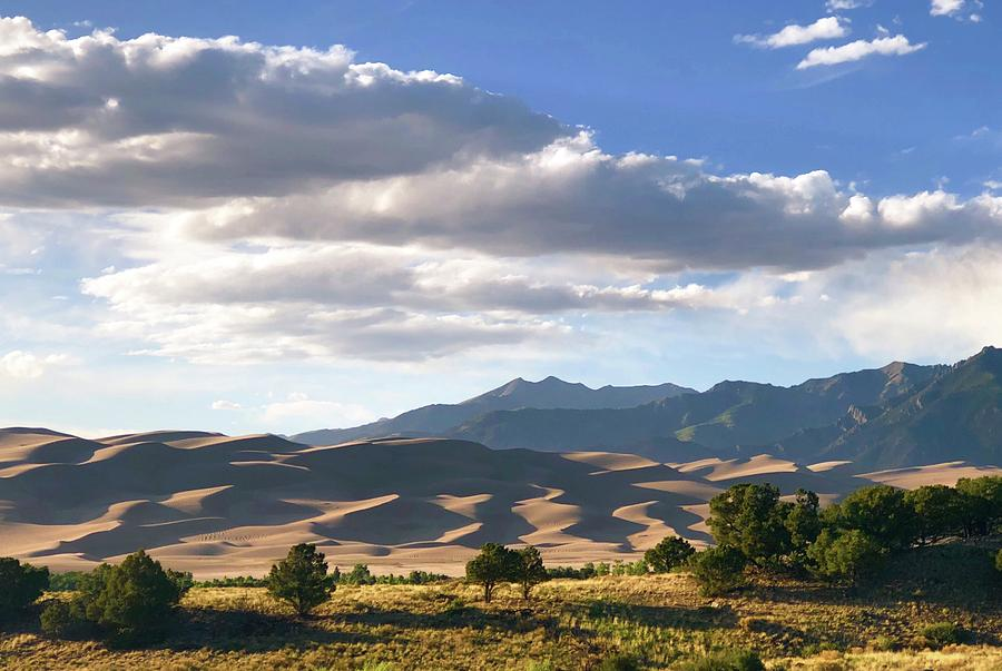 Great Sand Dunes National Park Photograph - Great Sand Dunes at Dusk by Kevin Schwalbe