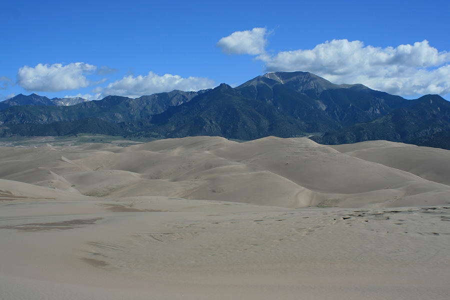 Great Sand Dunes Photograph - Great Sand Dunes by Christopher Larimore