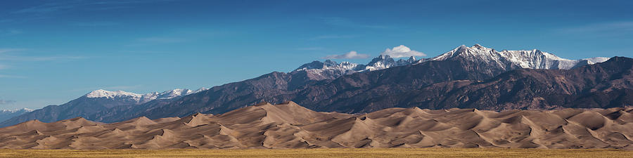 Great Sand Dunes Panorama 4to1 by Stephen Holst