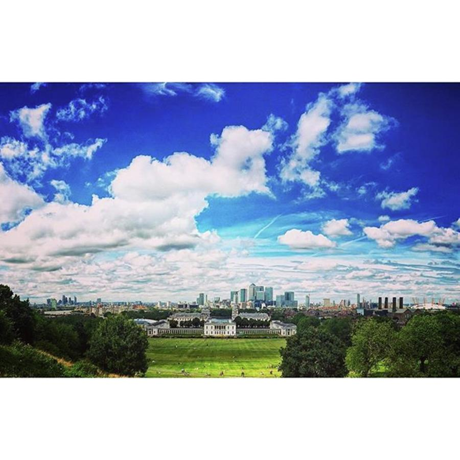 Summer Photograph - Great #view Of The #london #skyline In by Londonloves R