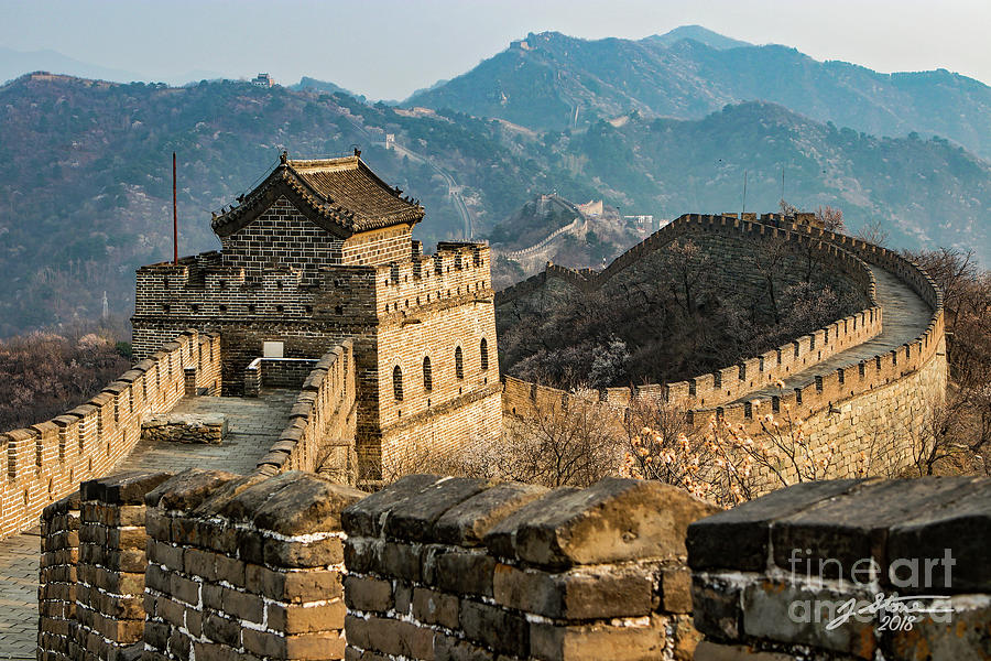 Great Wall Of China Photograph - Great Wall #2 by Jeffrey Stone