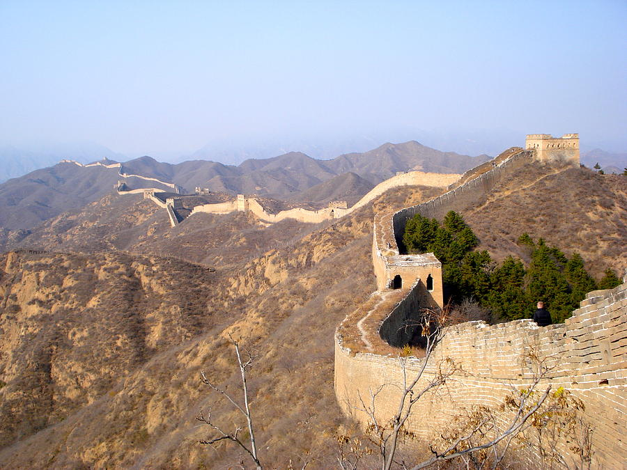 Great Wall Of China Photograph - Great Wall by Britta Loucas