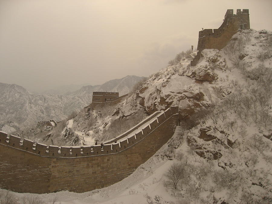 Great Photograph - Great Wall by James Lukashenko
