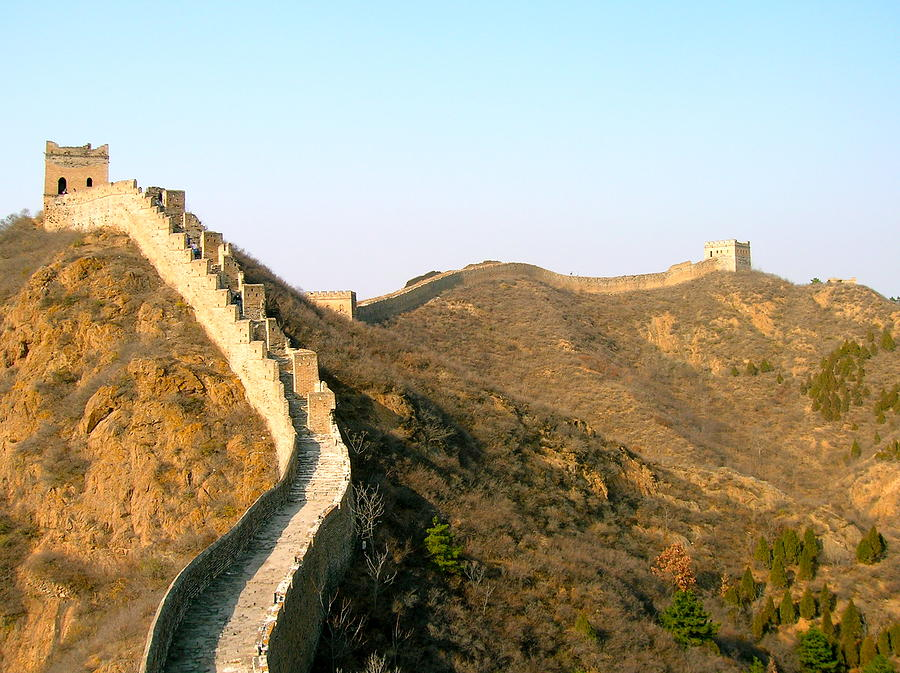 Asia Photograph - Great Wall Of China by Britta Loucas